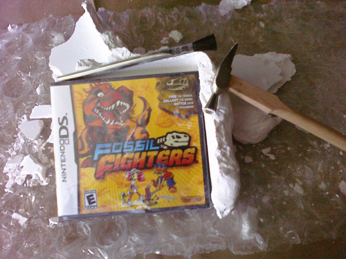 Fossil Fighters box after!