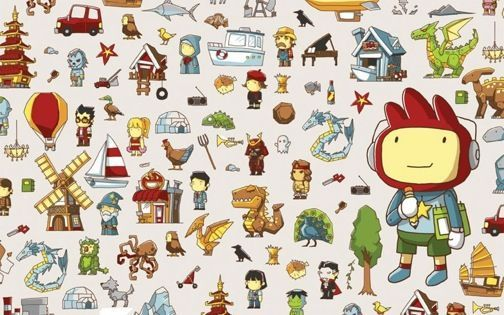 Scribblenauts - just one year for all this?
