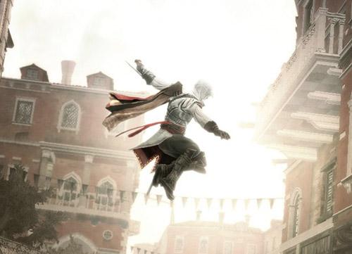 Assassins Creed II - Ezio's best Billy Elliot impression