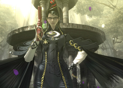 Bayonetta - why, what long hair you have...