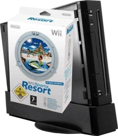 Black Wii bundle - courtesy of Play.com