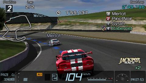 Gran Turismo PSP - impressive huh?