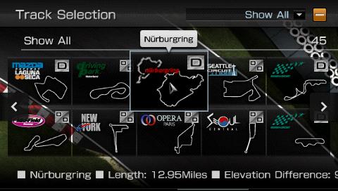 Gran Turismo PSP - tracks upon tracks!
