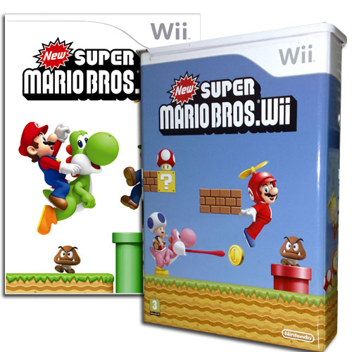 New Super Mario Bros Wii - Tin tastic!