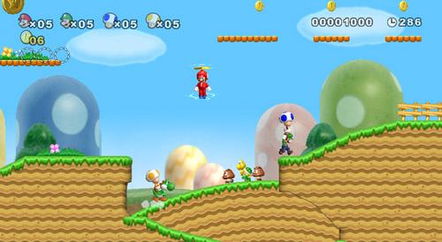 Jump Mario jump!