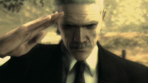 Meta lGear Solid 4 - Such a fitting image...