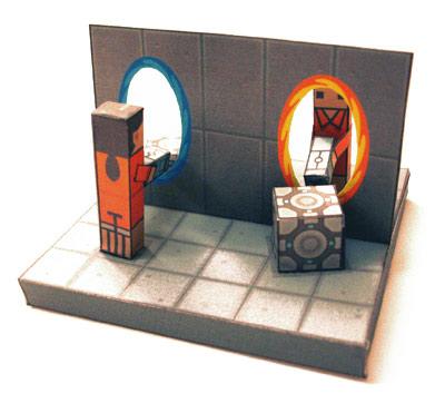 Portal - Papercraft fun!