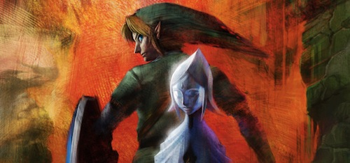 The Legend of Zelda - she's behind you Link!